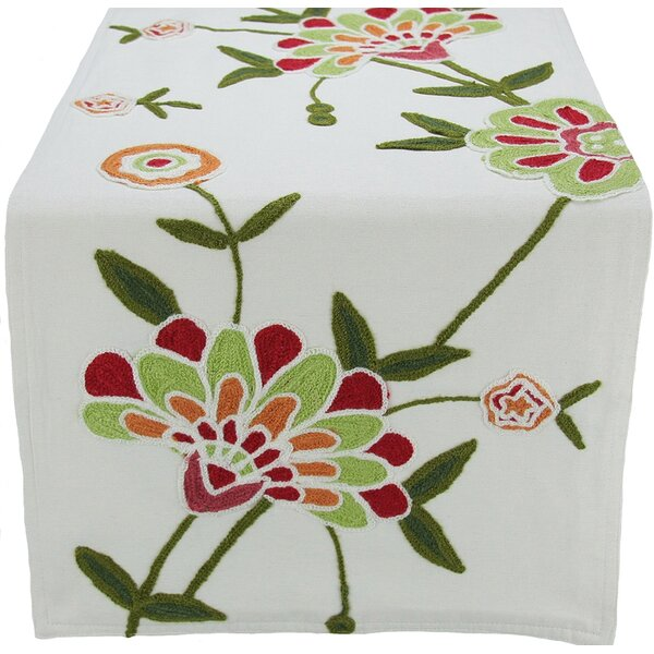 Flora Linens Table Runner by Xia Home Fashions