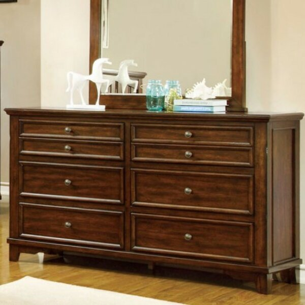 Torri 8 Drawer Double Dresser by Darby Home Co