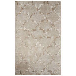 Avery Hand-Tufted Trellis Gray Area Rug by Willa Arlo Interiors