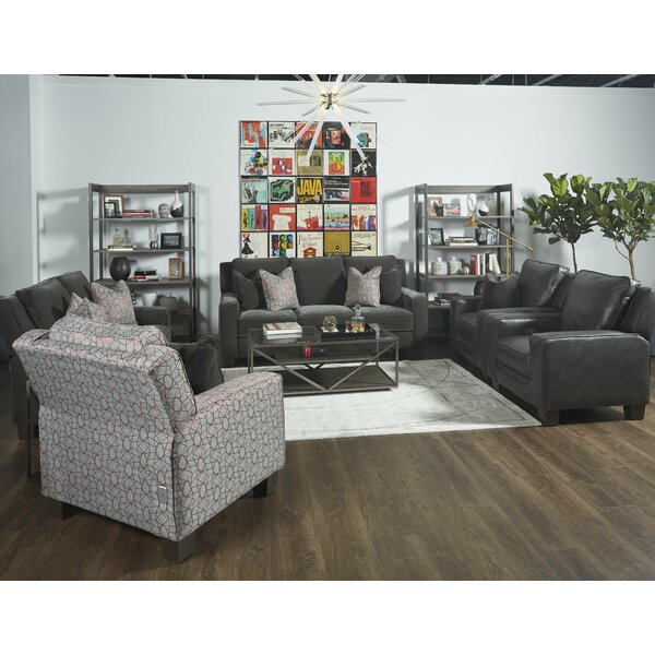 West End Hi-Leg Leather Power Recliner by Southern Motion Southern Motion