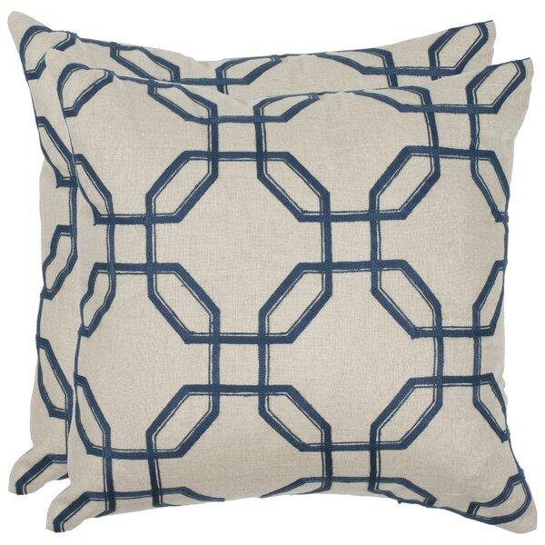 Hayden Linen Throw Pillow (Set of 2) by Safavieh