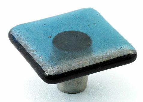 Iridescent Square Knob by Windborne Studios