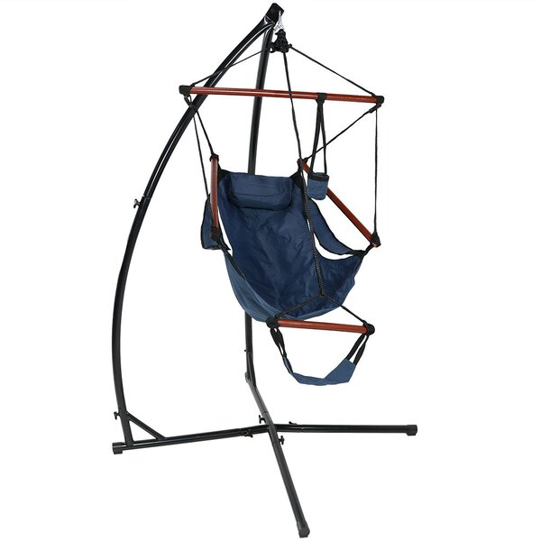 Zoie Durable Chair Hammock with Stand by Freeport Park