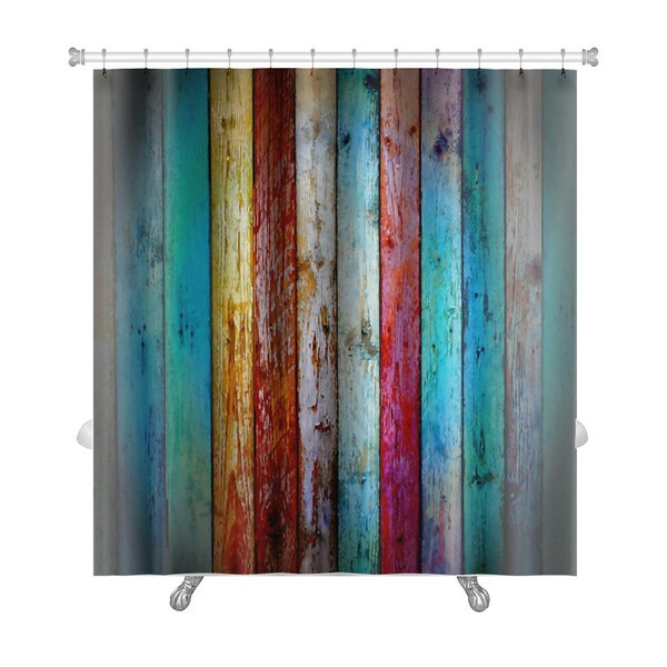 Vintage Wood Premium Shower Curtain by Gear New