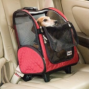 Wheel Around Travel Pet Carrier by Snoozer Pet Products