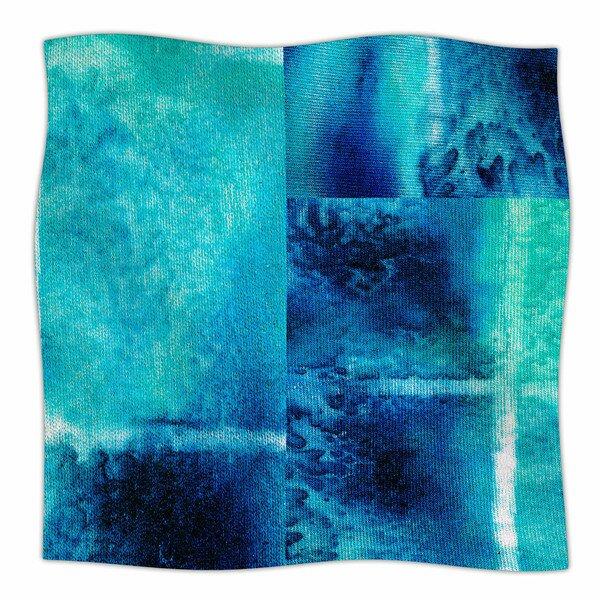 Saltwater Study by Nina May Fleece Blanket by East Urban Home