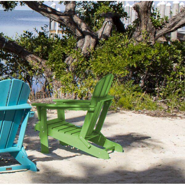 Plastic Folding Adirondack Chair by Panama Jack Outdoor