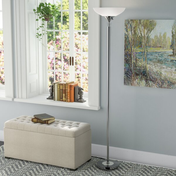 Knipp 71.5 Torchiere Floor Lamp by Andover Mills