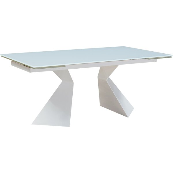 Denzel Extendable Dining Table by House of Hampton House of Hampton