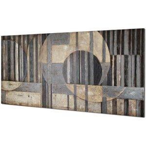 Abstract Sections by Tina O. Painting on Wrapped Canvas by Hobbitholeco.
