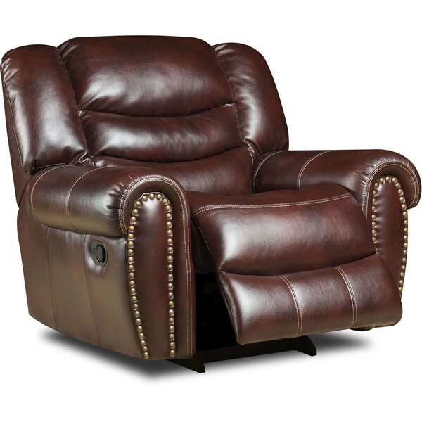 Herring Power Glider Recliner by Alcott Hill