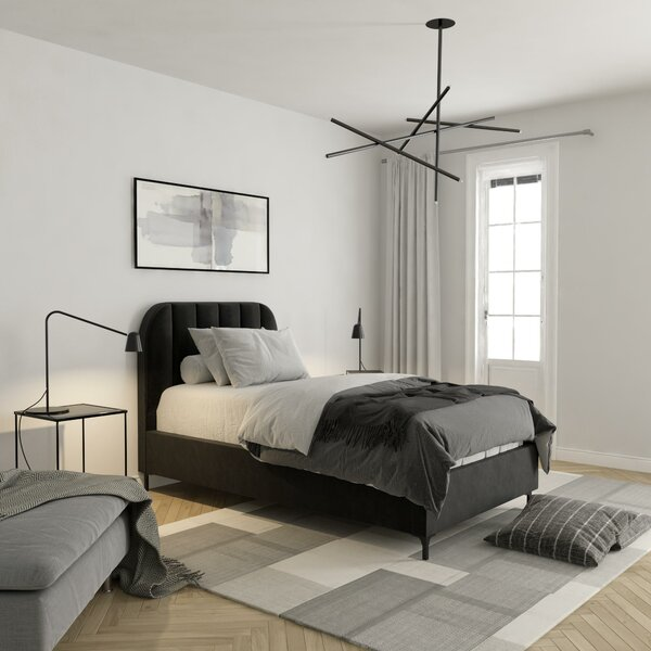 Perrine Upholstered Platform Bed by Mercer41