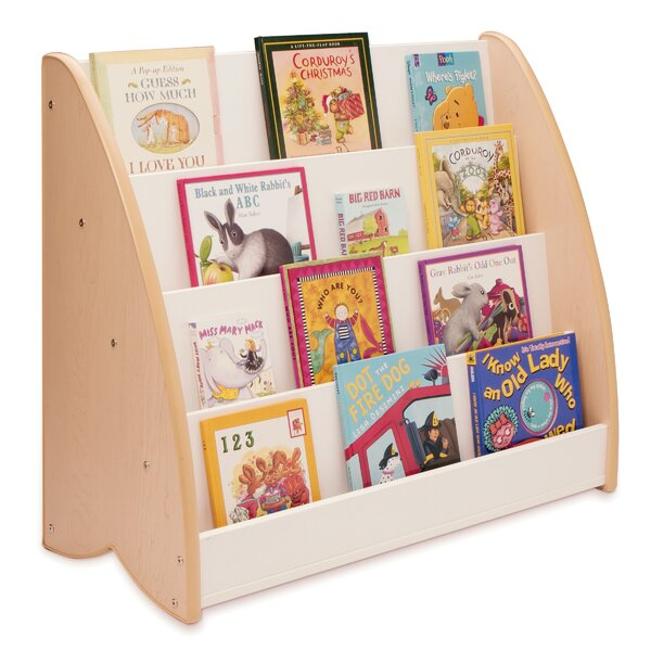 NewWave 4 Compartment Book Display by Whitney Brothers