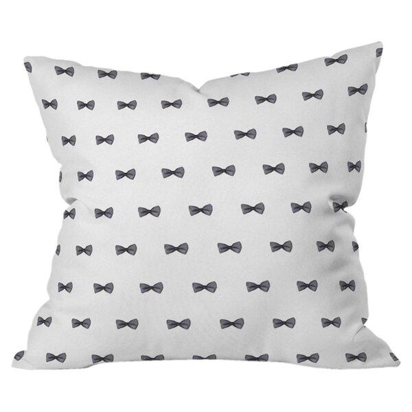 Social Proper Bows Bows Bows Outdoor Throw Pillow by Deny Designs