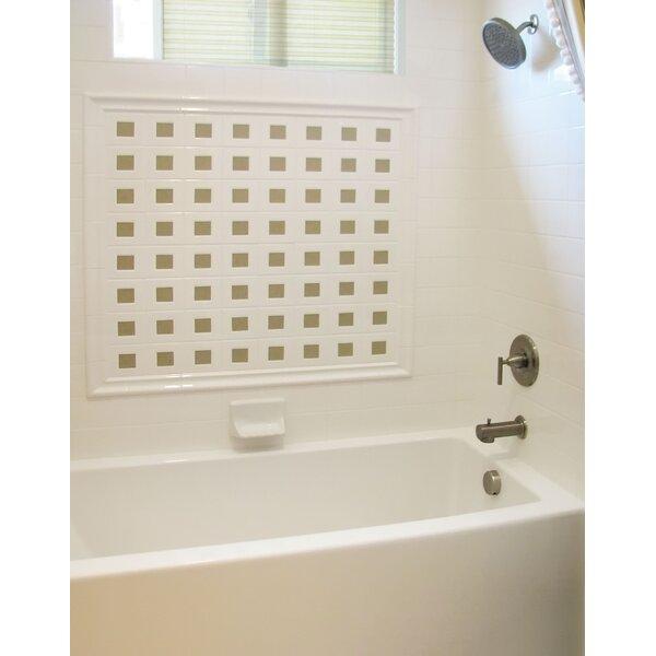 Designer Sydney 72 x 40 Whirlpool Bathtub by Hydro Systems