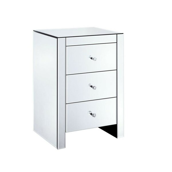 Scott 3 Drawer Bachelors Chest by Rosdorf Park