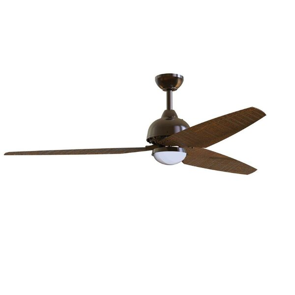 58 Brenda 3 Blade Ceiling Fan with Remote by Brayd