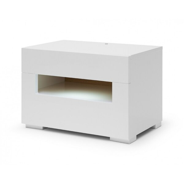 Stiffler 2 Drawer Nightstand by Orren Ellis