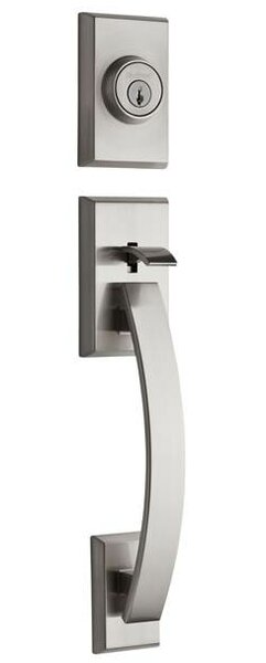 Tavaris Signature Series Dummy Handleset, Exterior Handle Only by Kwikset