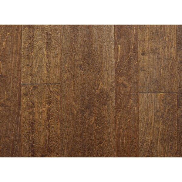 Lyon 7 Engineered Birch Hardwood Flooring in Brown by Branton Flooring Collection