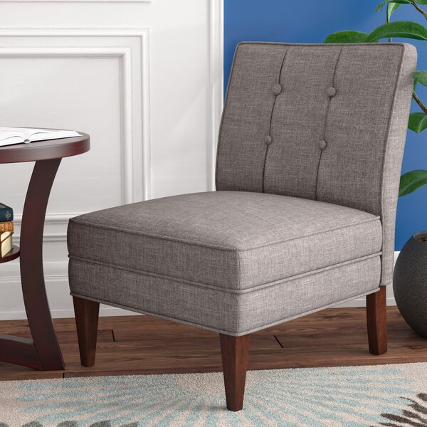 Lessard Slipper Chair by Charlton Home