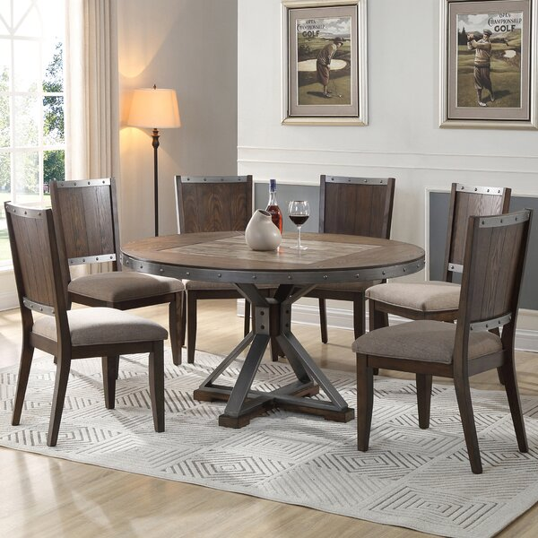 Honey 5 Piece Dining Set by Millwood Pines