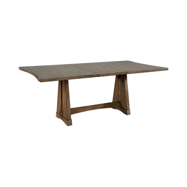 Montezuma Extendable Dining Table by Millwood Pines Millwood Pines