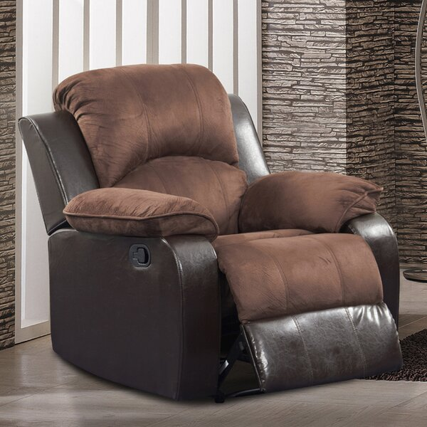 Minerva Manual Recliner by Red Barrel Studio