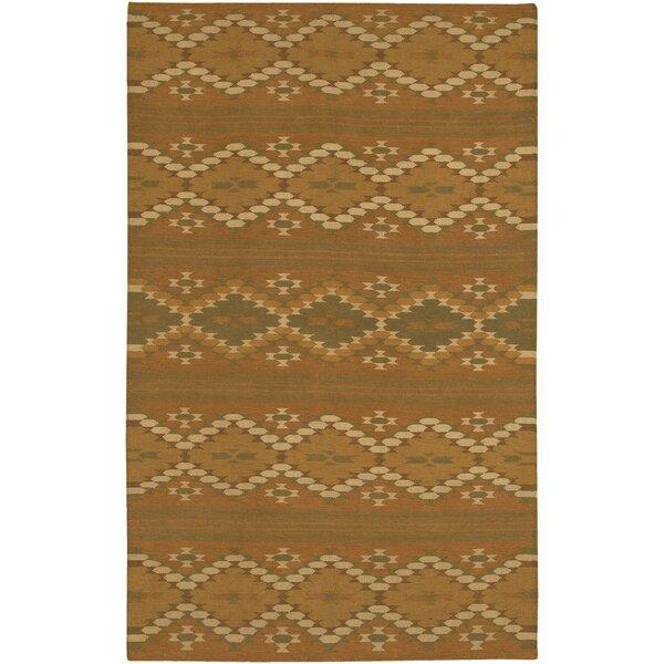Barbazan Brown Rug by Loon Peak