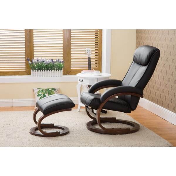 Cedarfields I-Rest Manual Swivel Recliner with Ott