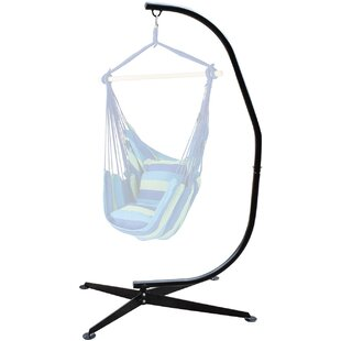 feature Inexpensive Marina Arc Steel Hammock Chair Stand By Freeport Park