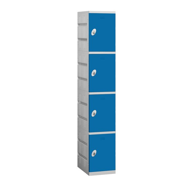 4 Tier 1 Wide Employee Locker by Salsbury Industri