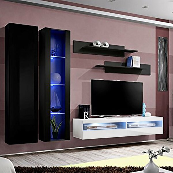 FLYA4 Floating Entertainment Center For TVs Up To 70