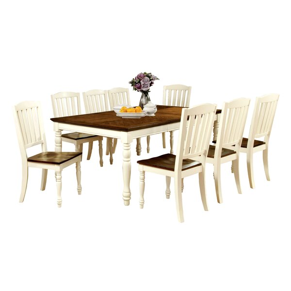 Laureus 9 Piece Dining Set by Hokku Designs