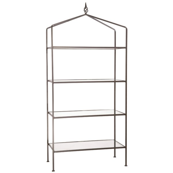 Christiansen 4 Tier Etagere Bookcase by Fleur De Lis Living