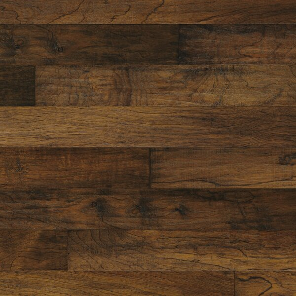 Mayan Pecan 5 Engineered Copaiba Hardwood Flooring in Clove by Mannington