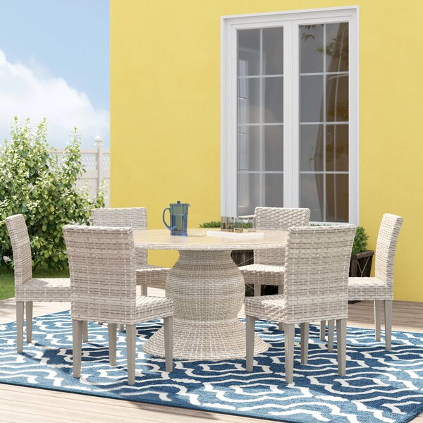 Rockport 7 Piece Dining Set by Sol 72 Outdoor