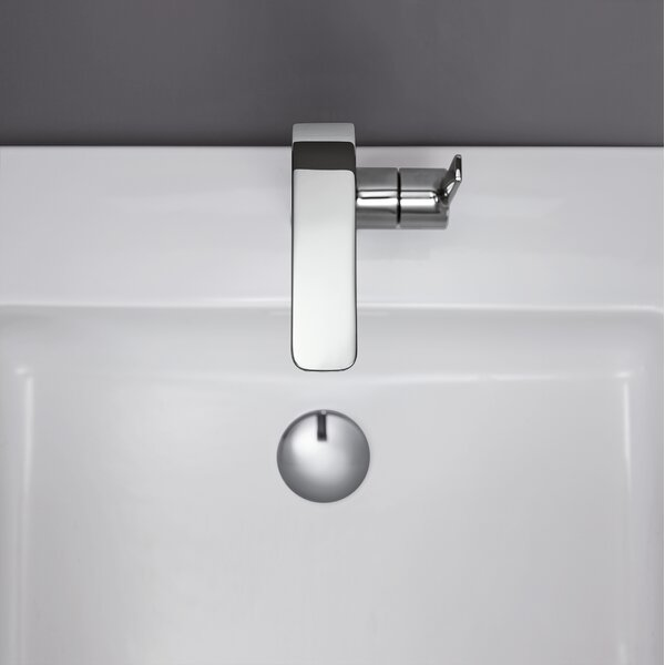 Lineare Single Hole Bathroom Faucet with Drain Assembly