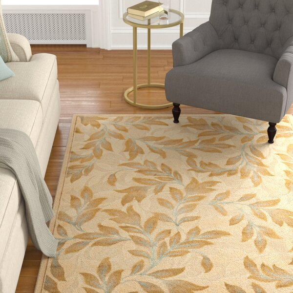 Patrick Light Creme Area Rug by Charlton Home