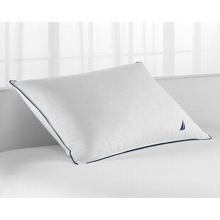 Embroidered Medium Down Alternative Pillow (Set of 4) By Nautica