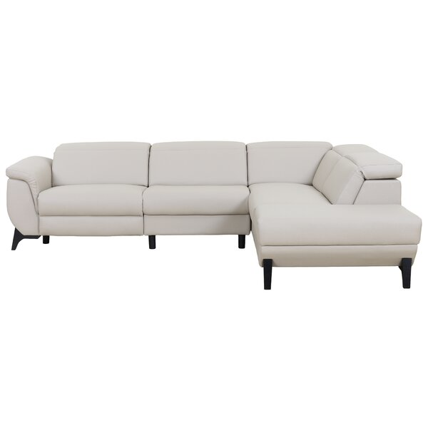 Axtell Modern Reclining Sectional with Electrical Recliner by Orren Ellis