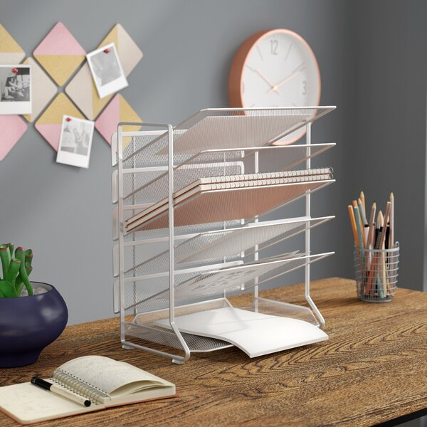 Office Desk Organizer by Rebrilliant