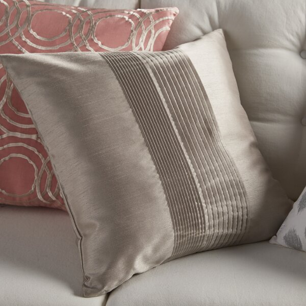 Arber Pleated Throw Pillow Cover by Willa Arlo Interiors
