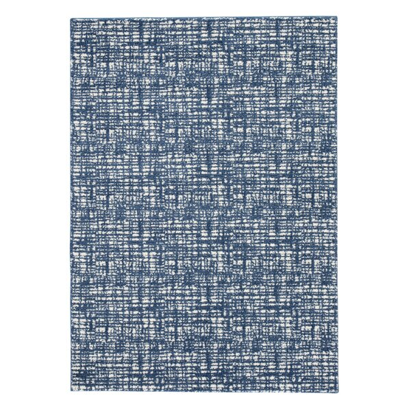 Cheung Blue/White Area Rug by Ivy Bronx