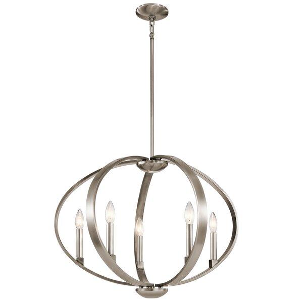 Zachary 5-Light Candle Style Globe Chandelier By Corrigan Studio