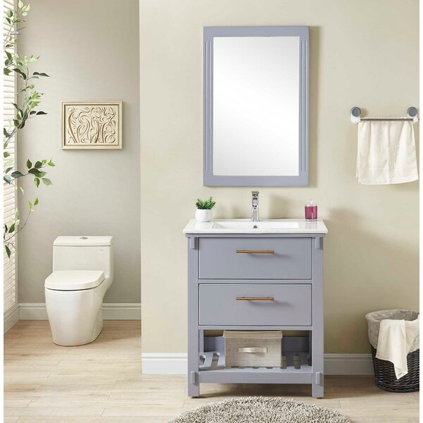 Gravely 30 Single Bathroom Vanity Set by Wrought Studio