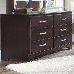 Signature 6 Drawer Double Dresser by Carolina Furniture Works, Inc.