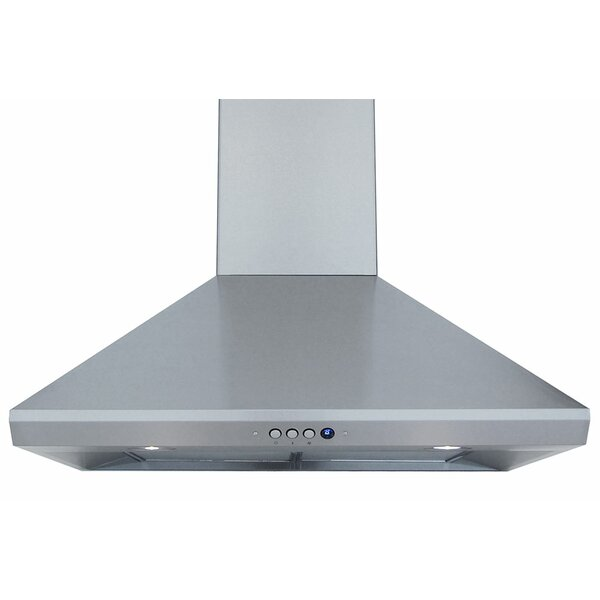 30 550 CFM Ducted Wall Mount Range Hood by Windster