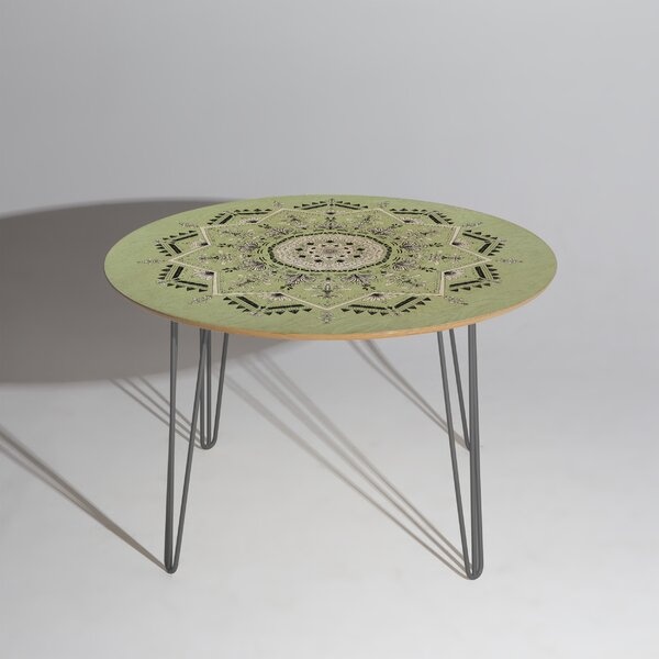 Star Mandala Dining Table by East Urban Home