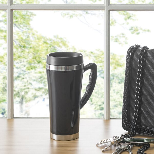Travel Mug with Handle (Set of 2) by Home Basics